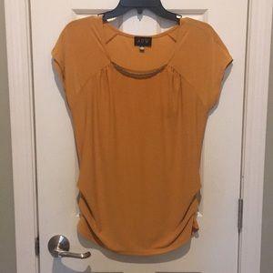Autumn Squash Short Sleeve Blouse